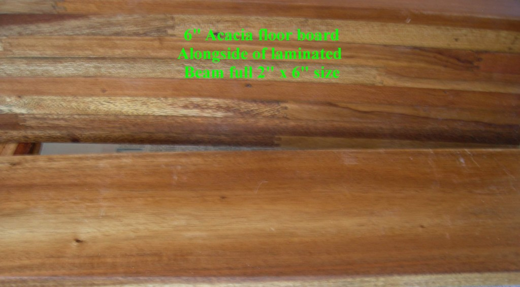Floor and Laminated Beam - Acacia