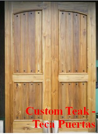 Custom Doors teca, Mountain Paradise, Escazu, Costa Rica