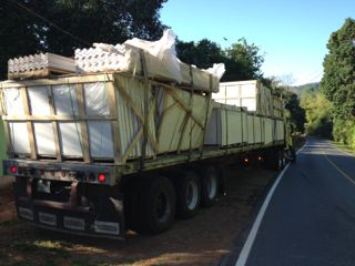 SIP panels arrive in Costa Rica for first home