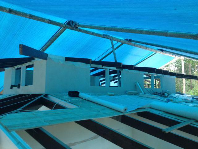 Cupalo rafters