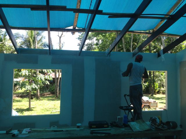 filling in rafter spaces