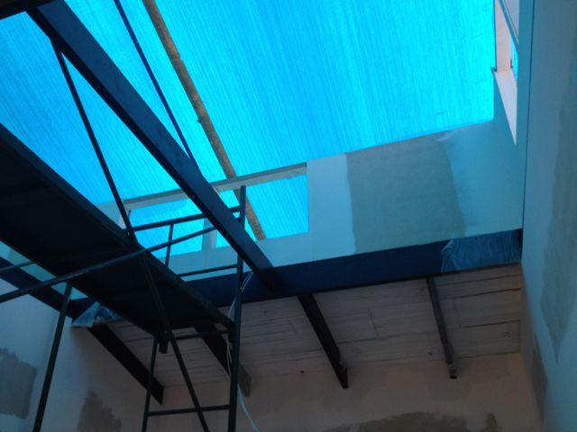 inside of cupalo walls