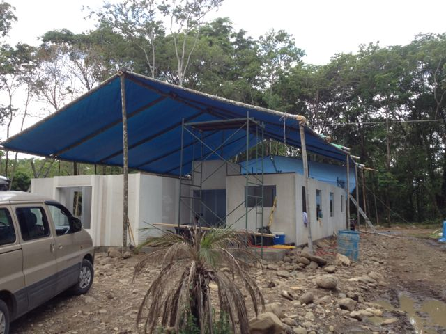 tarp roof up