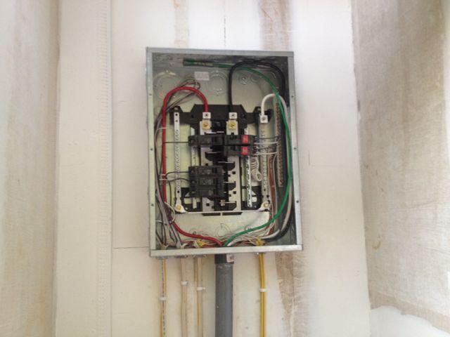 GE elec panel