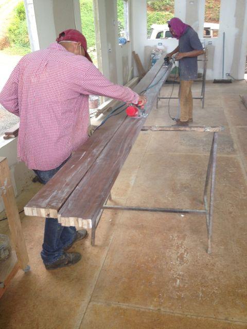 sanding finish