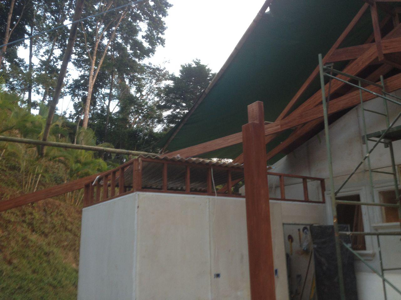 First Hip rafter