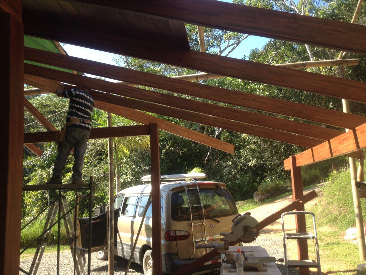 Carport rafters