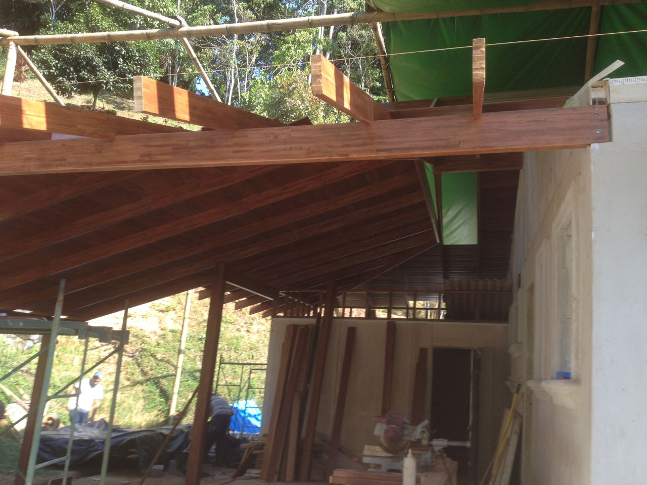 Carport tablia