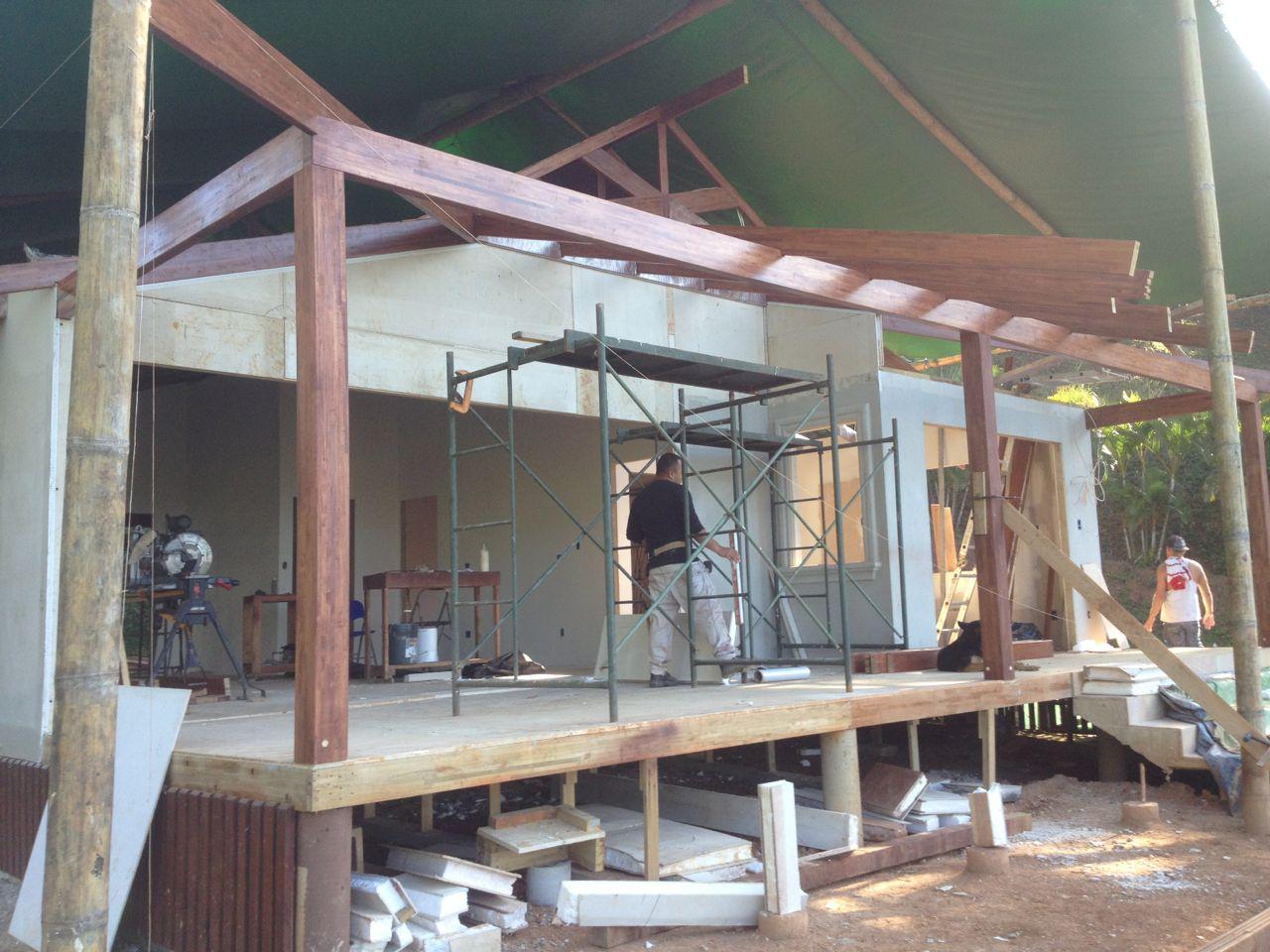 Terrace jack rafters start