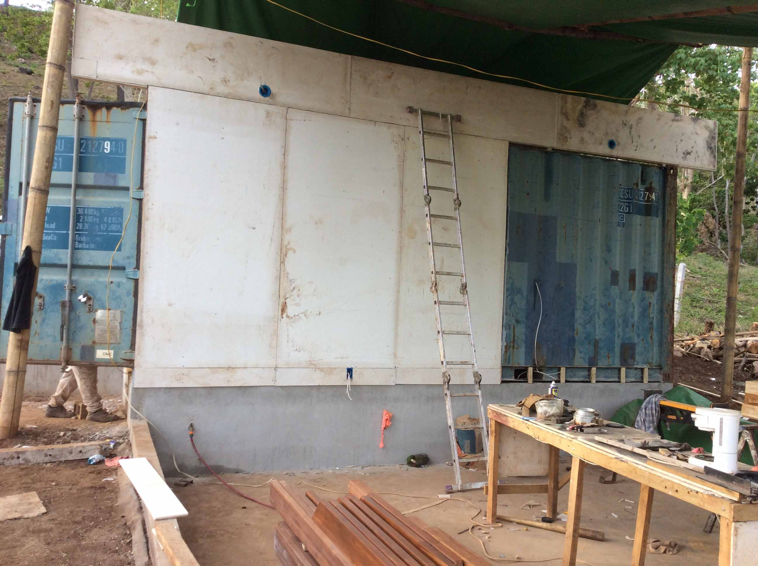 Container sheeting