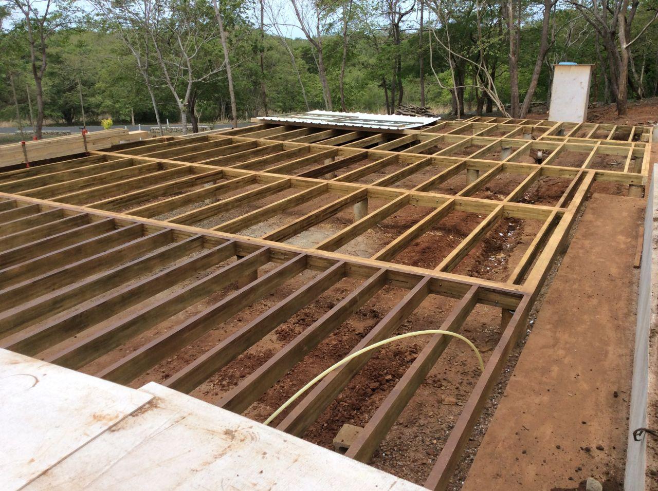 Floor structure complete