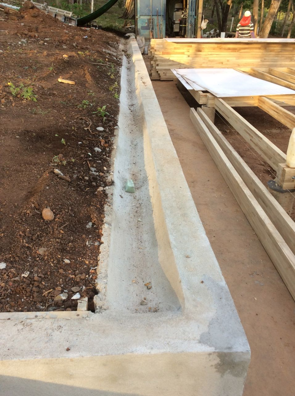 Gutter completed