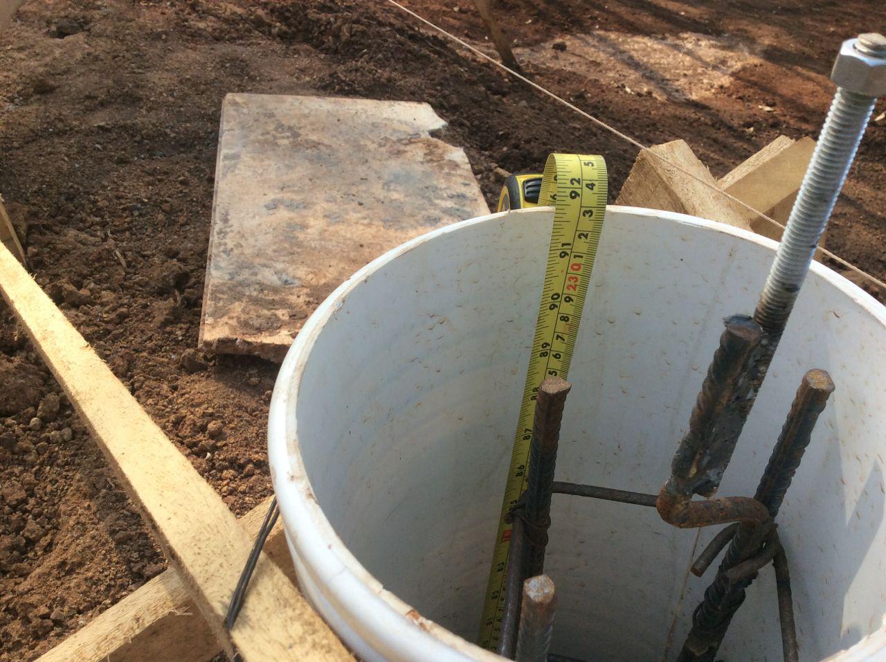 Piling depth 2
