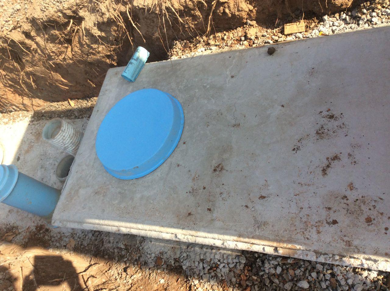 SEptic tank cap