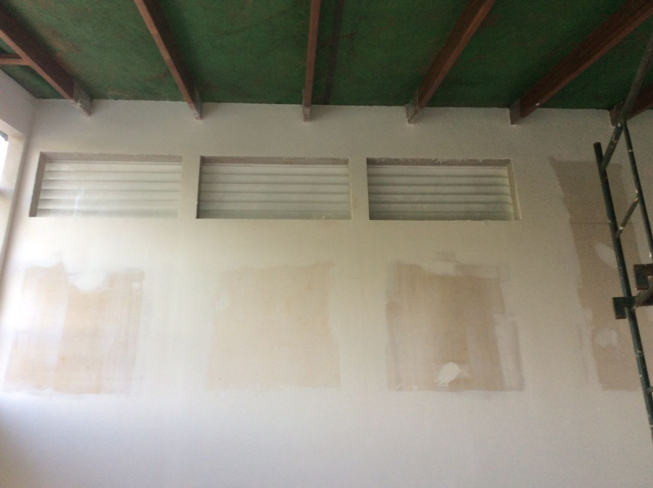 Louvers from living room