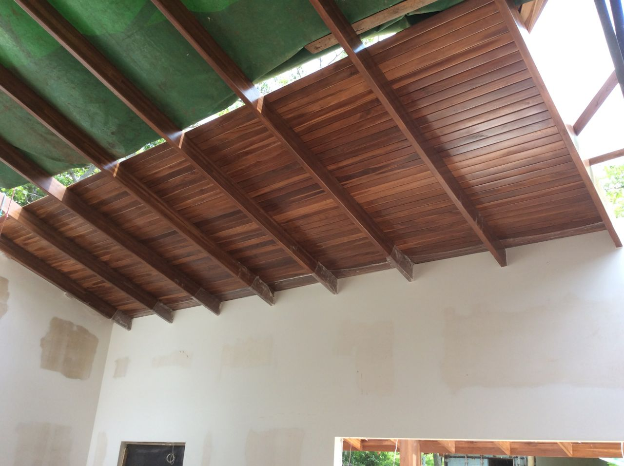 Living room ceiling up